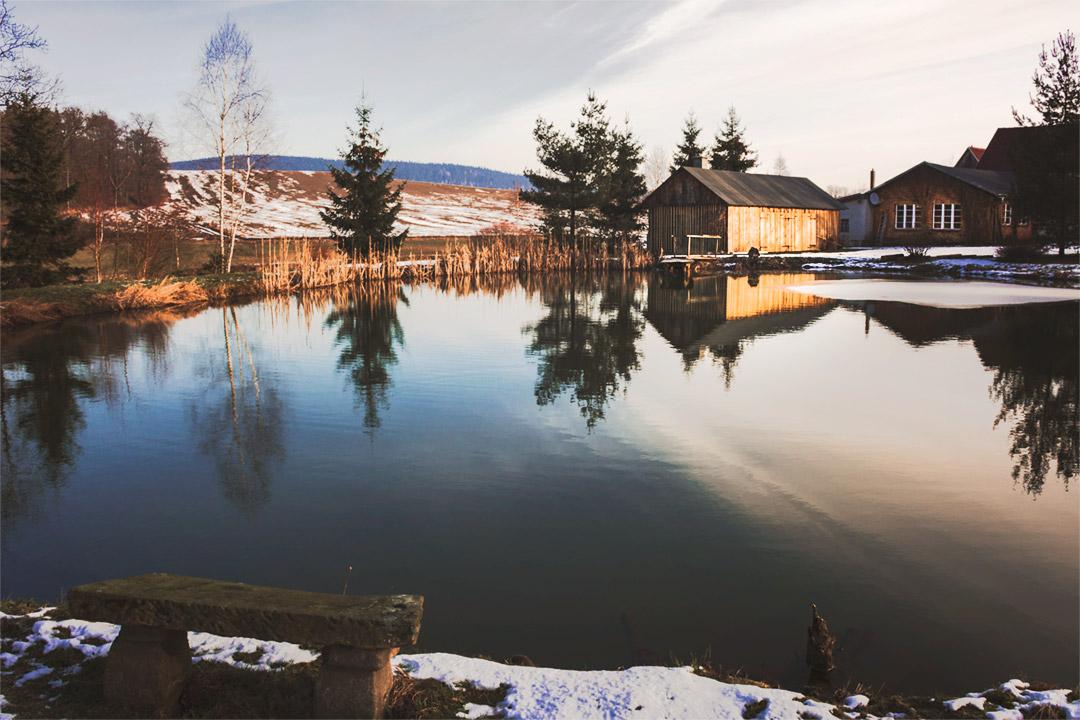 Zima w agroturystyce Pustelnik