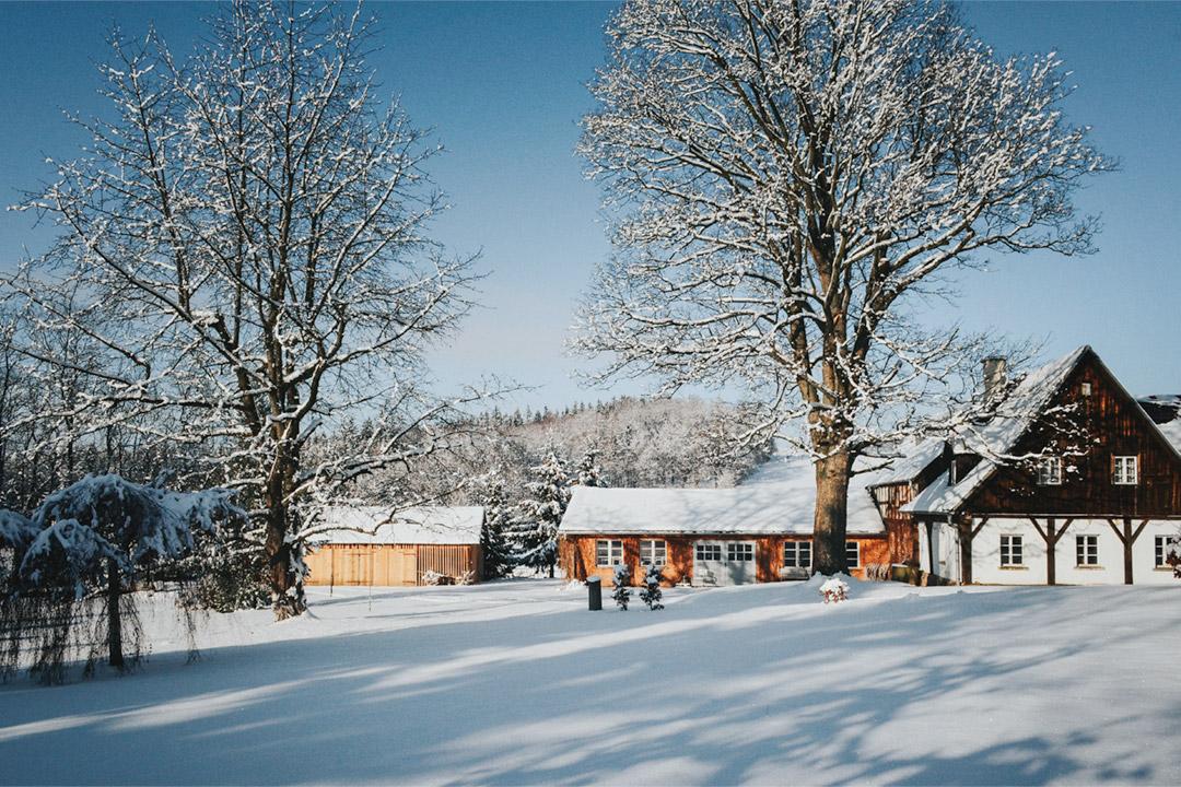 Zima w Sudetach